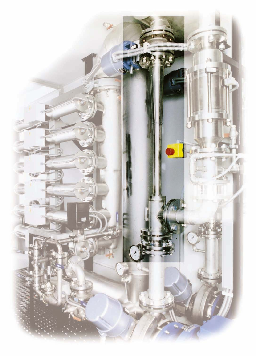 Liquid jet gas compressor installed in a plant
